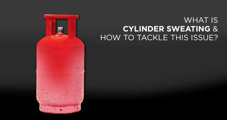 Cylinder Sweating