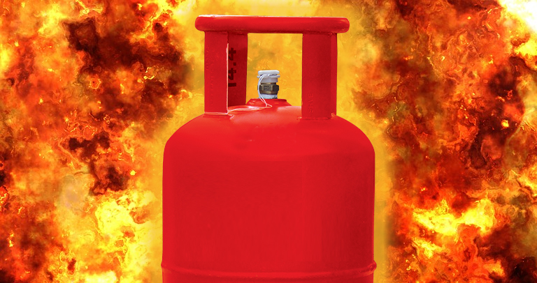 LPG Cylinder Explosion