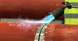 LPG for Metal Preheating