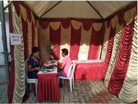 CSR Activity-Health Camp