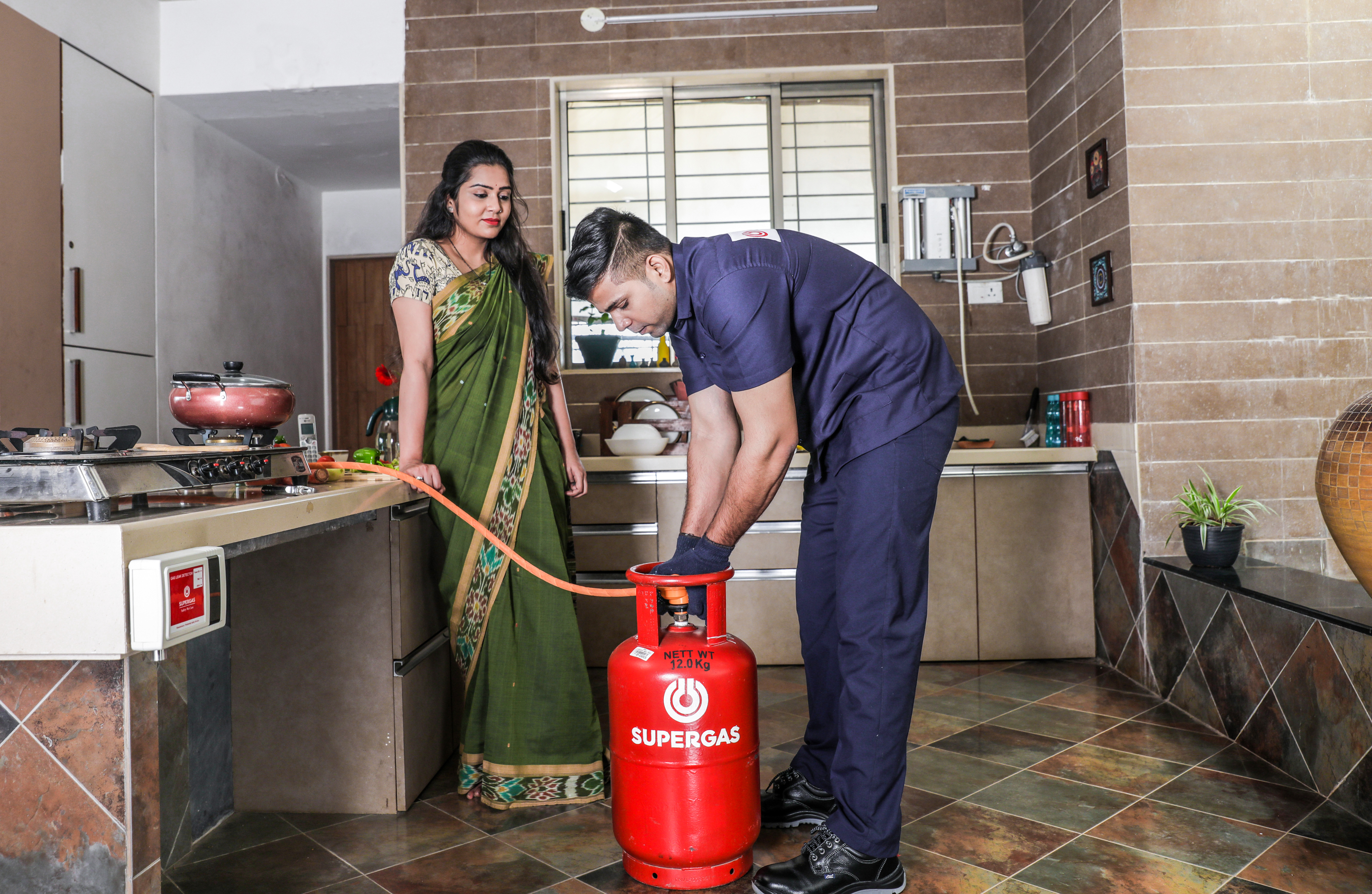 New LPG Connection for Home