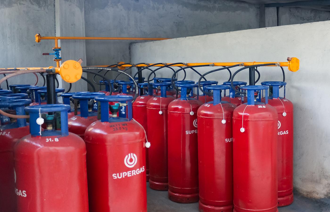 33Kg VOT Cylinder for Hotel