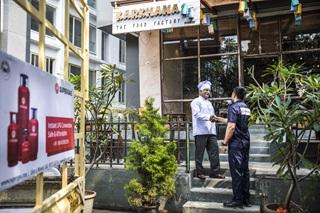 LPG supply for Hotel
